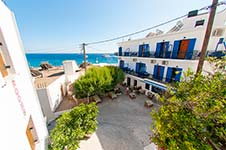 Hotel Stavris, Chora Sfakion, Crete, close to the beach